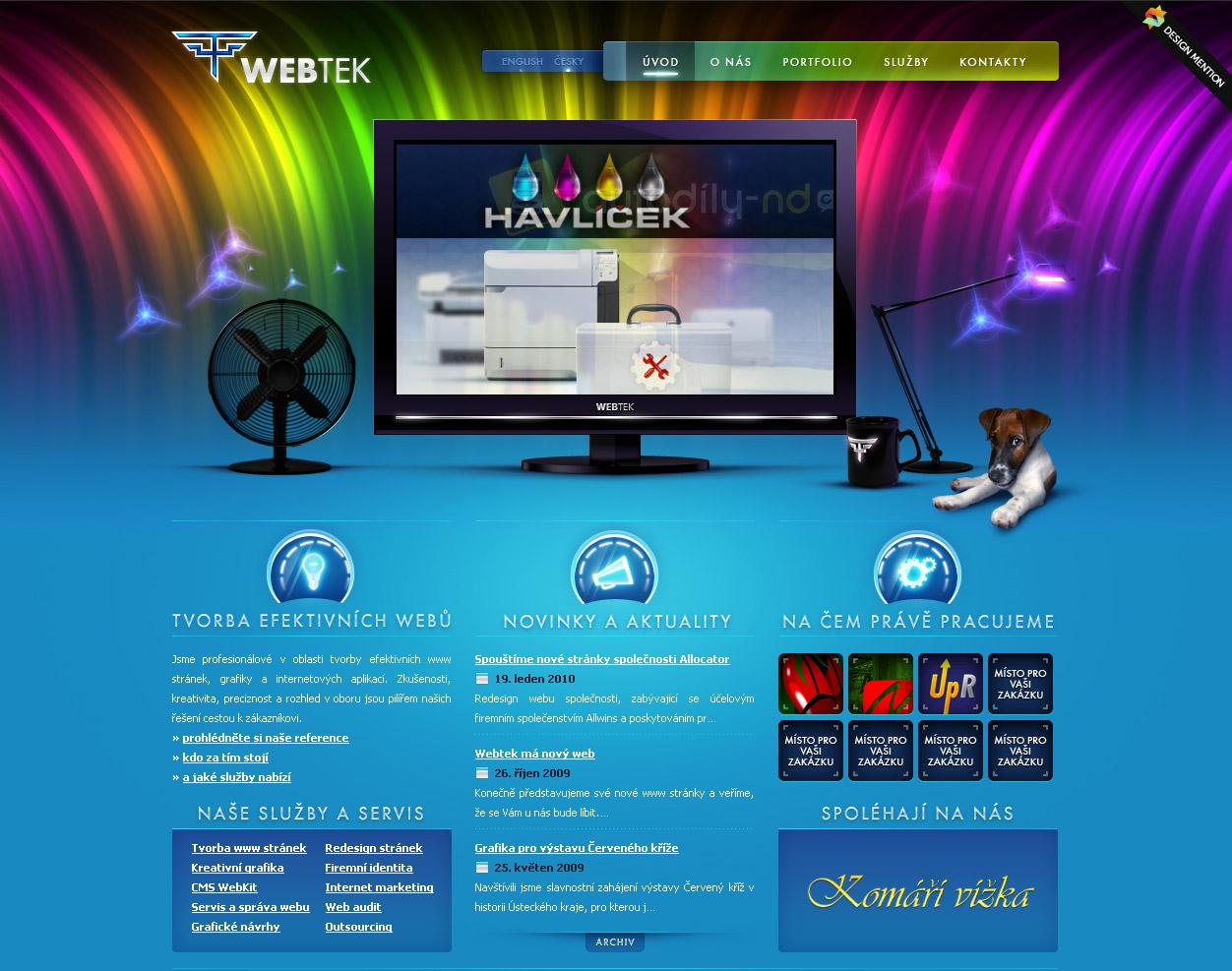 website designing samples
